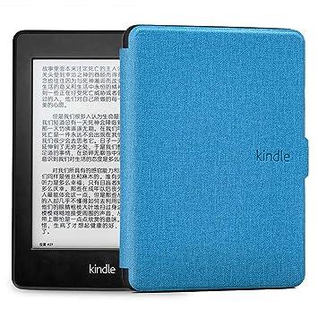 DATOUDATOU Kindle Caso Piel Cubierta de Silicona Suave para Kindle ...