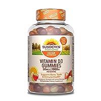 Sundown Vitamin D3, 150 Gummies (Packaging May Vary)