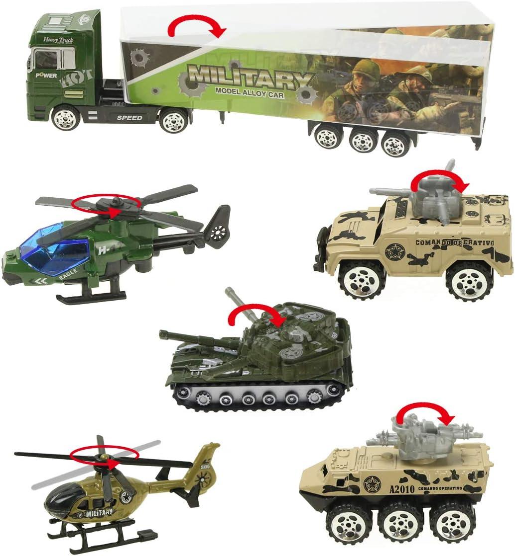 Jenilily 100 in 10 Panzer Spielzeug militär Auto Hubschrauber ...