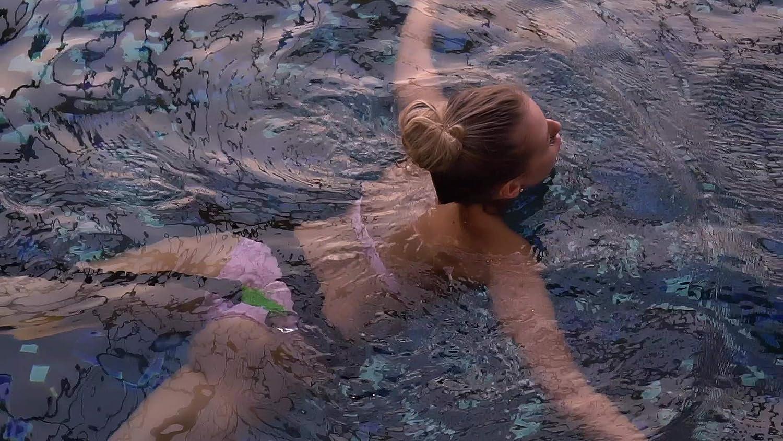 Nuoto Senza Sistema controcorrente Body Cross Allenatore di Nuoto con Cintura Imbottita