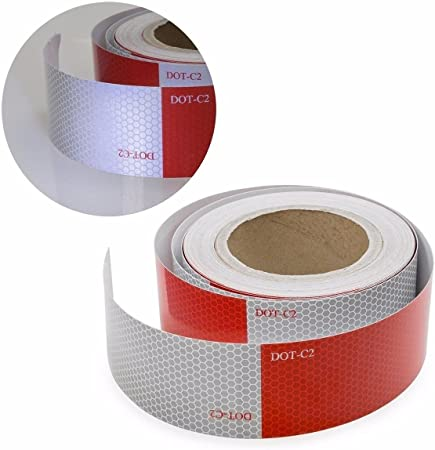 """150/' X 2/"""" DOT C2 Class 2 Conspicuity Tape Reflective Truck Trailer Camper Safety"""