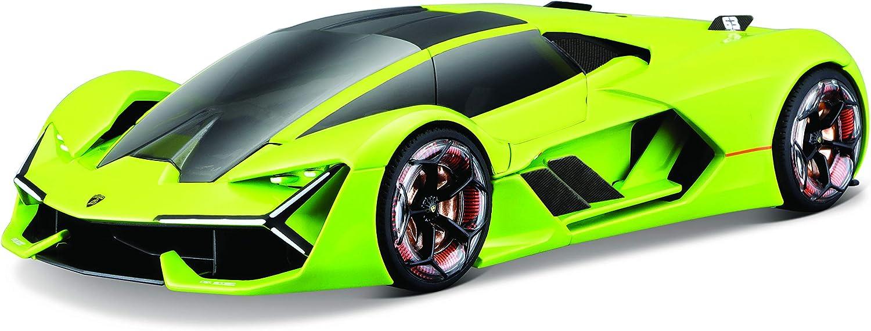 Bburago-Lamborghini Terzo Millennio 1:24 en Color Verde (18-21094G)