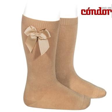 a44861c338e Condor Socks Knee High Socks With Side Grosgrain Bow  Amazon.co.uk  Clothing