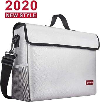 Bagkool Large Fireproof Water Resistant Money Bag