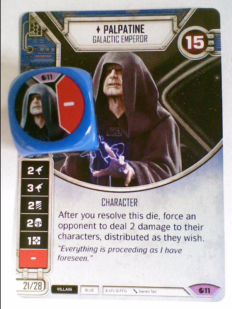 JABBA THE HUTT Star Wars Destiny Legendary Card w// Die #20