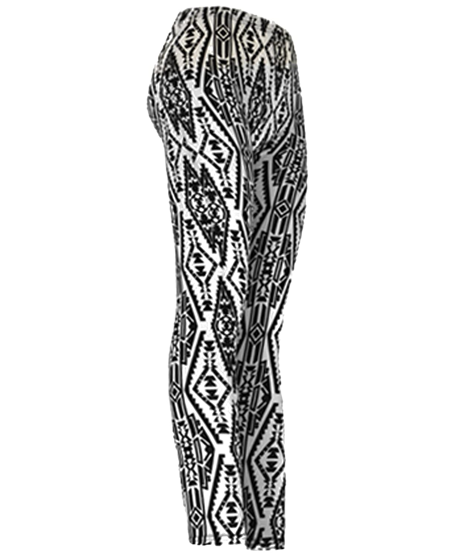 """""""Native"""" Ladies Footless Printed Leggings"""