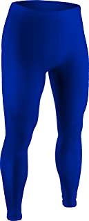 product image for CT112 Adult Sports Compression, Ankle Length Pant Tight-Stay Dry and Warm While Running, Skating, and Playing Hockey with Double Layered, Moisture Resistant Technology Engineered for Cold Weather