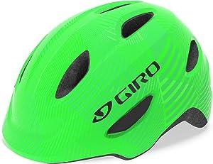 Giro Scamp MIPS Youth Recreational Bike Cycling Helmet - Small (49-53 cm), Green/Lime (2021)