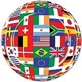 International Flag Plates   (8/Pkg)