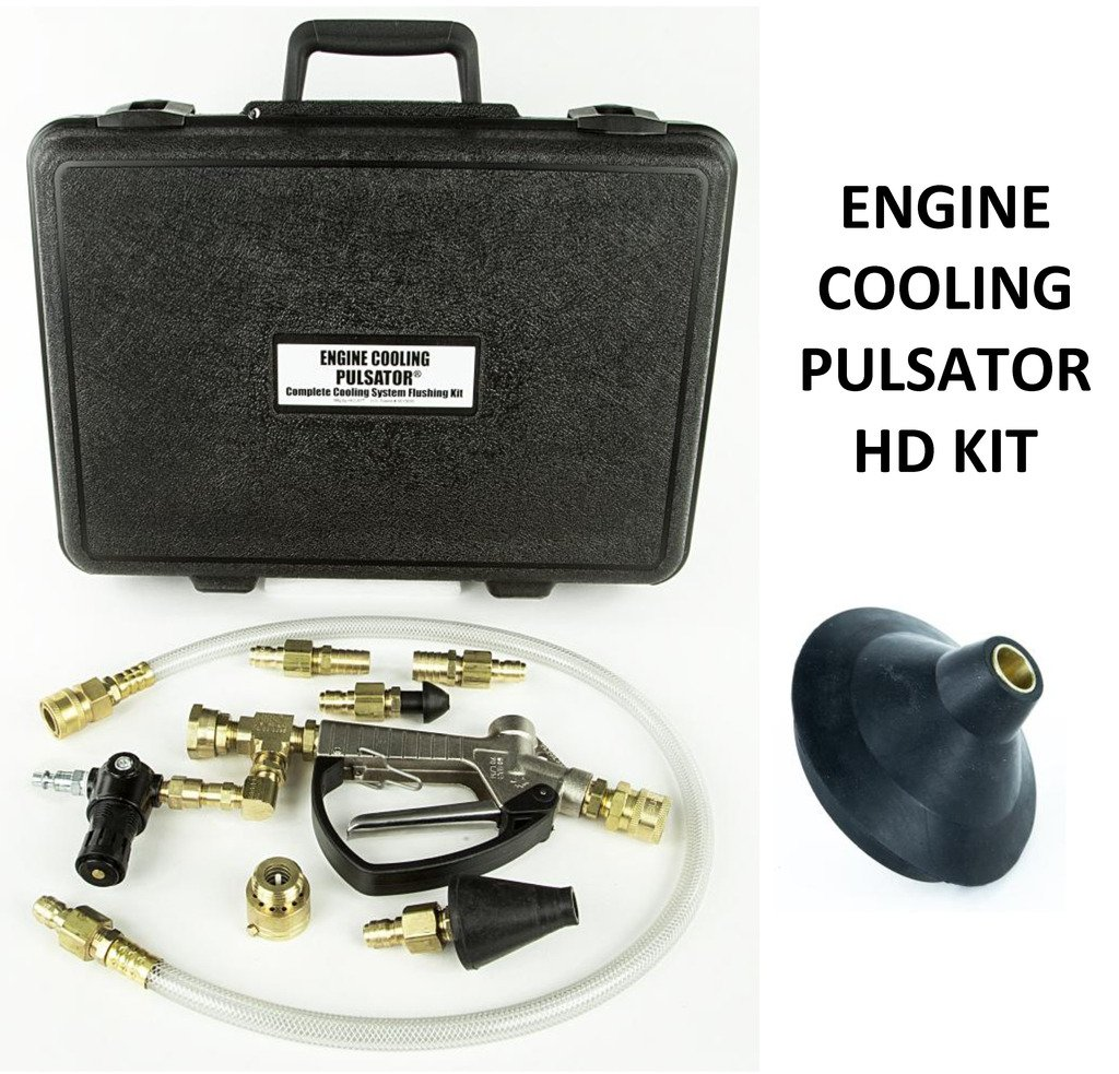 HECAT HD ENGINE COOLING PULSATOR KIT (118550HD)- Engine Cooling Pulsator with 4 inch HD Radiator Cone