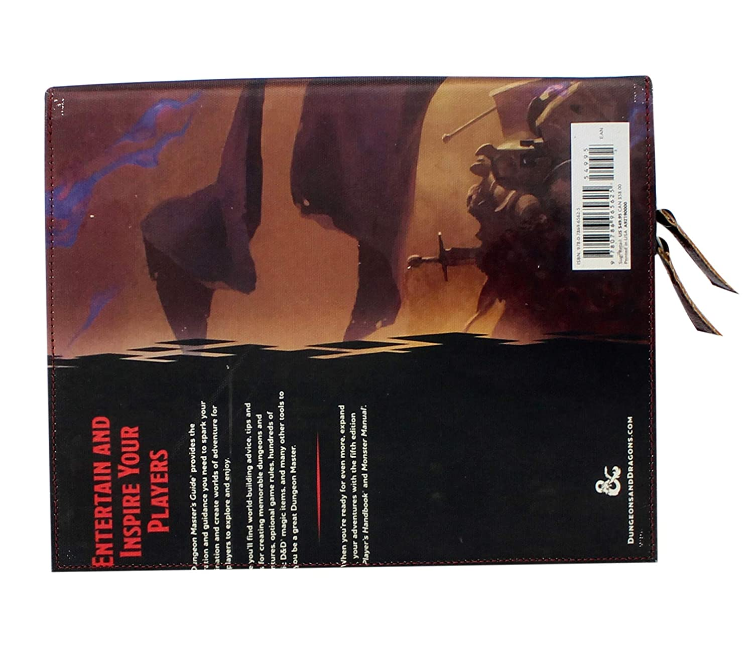 Dungeon Masters Guide Case for 16.5 inches Standard Laptop case with Handles