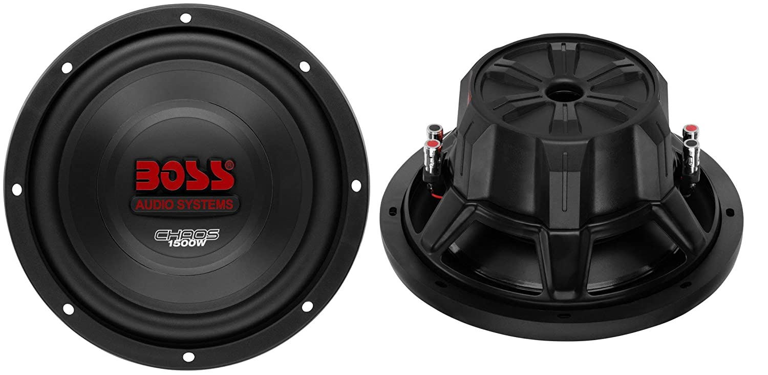 2 Boss Ch10dvc 10 3000w Car Subwoofers Subs Sealed Box Kit2 8 Gauge Complete Amplifier Wiring Kit Pair Vminnovations Enclosure Amp Cell Phones Accessories