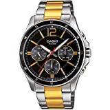 Casio Enticer Analog Black Dial Men's Watch - MTP-1374SG-1AVDF (A953)
