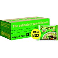 Yum Yum Instant Noodles Vegetable - 5 Paquetes de 10 x 60 gr - Total: 3000 gr
