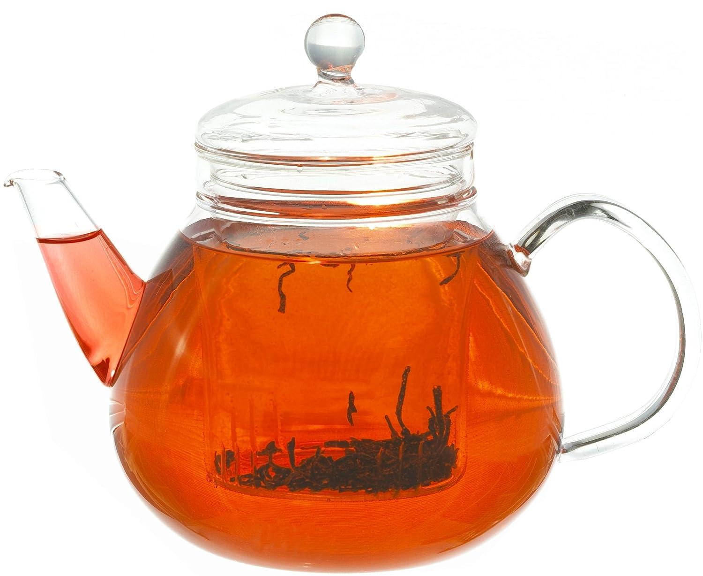 GROSCHE GLASGOW Glass Teapot with Infuser 1000 ml 34 Fl Oz capacity GR-140