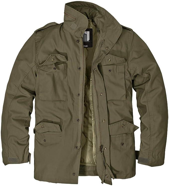 BW ONLINE SHOP Herren M 65 Feldjacke Standard Jacke Outdoor Parka