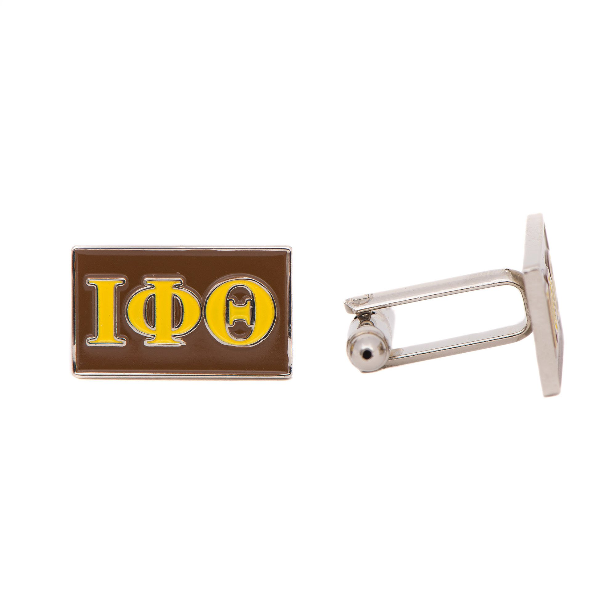 Iota Phi Theta Fraternity Letter Cufflinks Greek Formal Wear