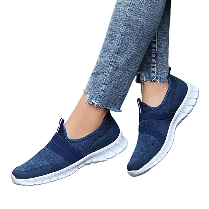 Adelgazar Zapato Deporte Mujer Hombre Con Plataforma Loafers Sneakers Zapatillas Atlético Correr Gimnasio Peso Ligero Calzado