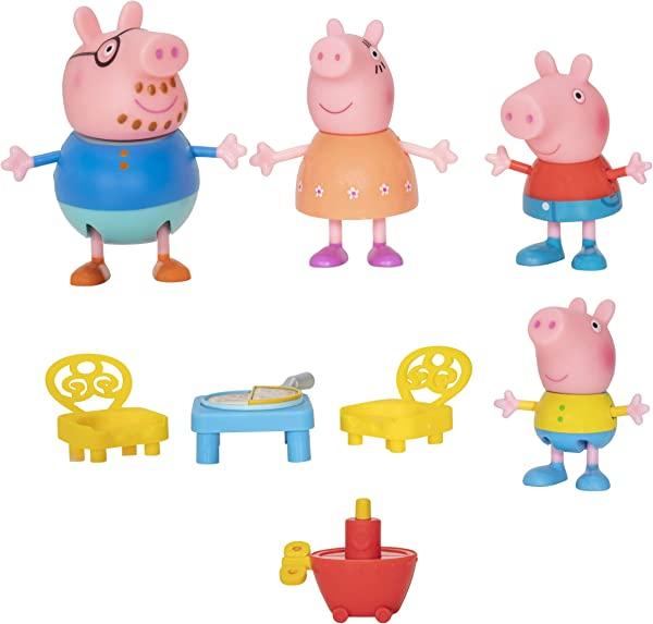Peppa Pig Shopping Mall with Family