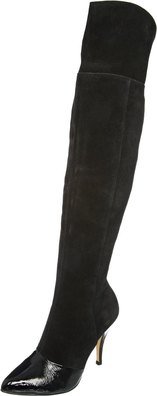 Dune Women's Pixie D Black Boots A11L