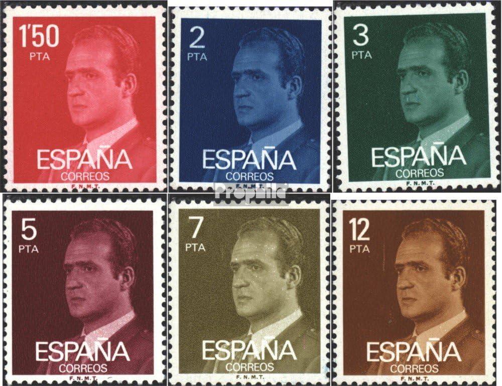 Prophila Collection España Michel.-No..: 2237x-2242x (Completa.edición.) 1976 Juan Carlos I. (Sellos para los coleccionistas): Amazon.es: Juguetes y juegos
