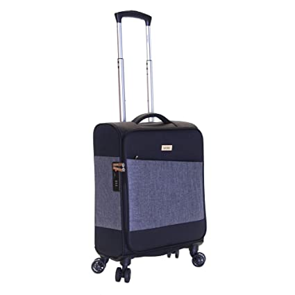 5f6b7c8f6 Karabar Cabin Carry-On Hand Luggage Suitcase Bag Expandable Lightweight 55  cm 40 litres 2.5