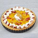 """Pie Tart 8"""" Baking Pan Made of Non-Stick Black"""