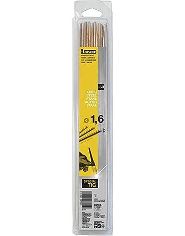 Abratools - Juego varilla gys diámetro 1,6mm acero (blister 60u)