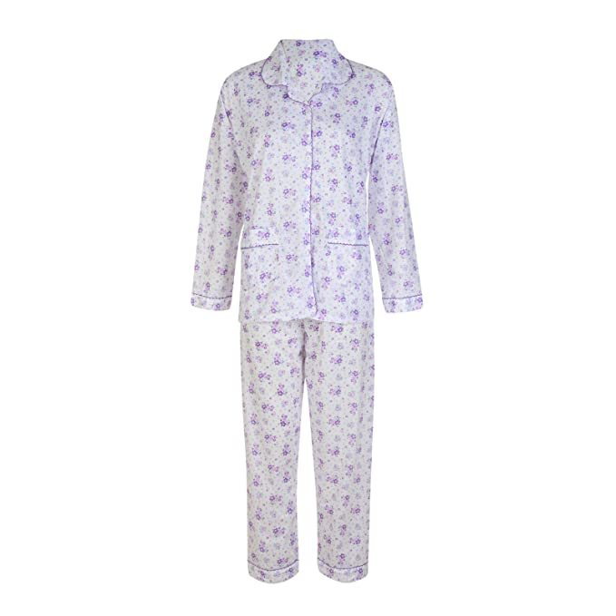popular stores cost charm thoughts on Ladies Pyjama Set Floral Button UP Long Pyjamas
