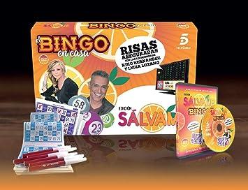 EL Bingo DE SÁLVAME  Amazon.es  Juguetes y juegos 8a242f19a0f2b