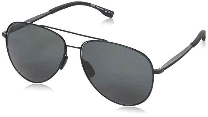 9ed9b8b659f Image Unavailable. Image not available for. Color  BOSS by Hugo Boss Men s  Boss 0938 s Polarized Aviator Sunglasses Green 62 mm