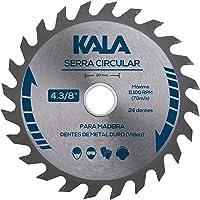Serra Circular 130 mmx24DTSx20 mm, Kala, 405036