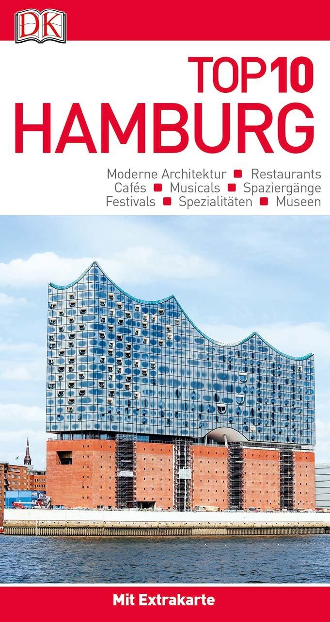 Top 10 Reiseführer Hamburg: mit Extrakarte und kulinarischem Sprachführer zum Herausnehmen