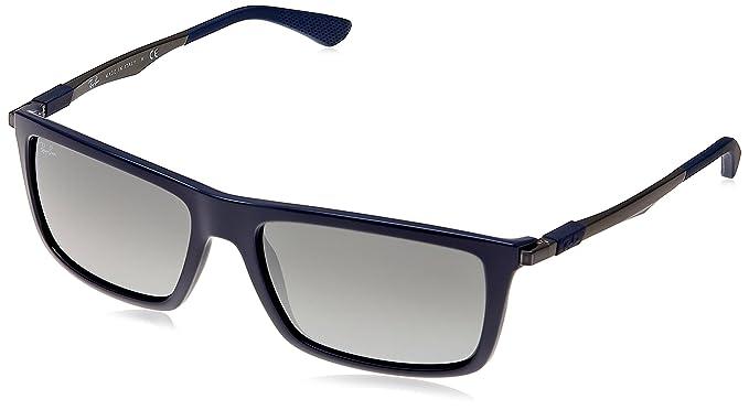 a38b1e0668a Ray Ban Square Sunglasses (Blue) (RB-4214-6129 6G