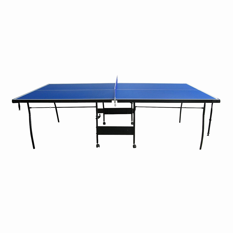 Amazon.com : ALEKO TT15BLUE 4 Piece Inside Table Tennis Portable Table With  Net Set, Blue : Sports U0026 Outdoors