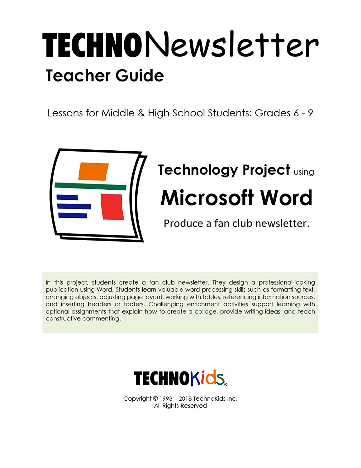 microsoft word assignments for high school students