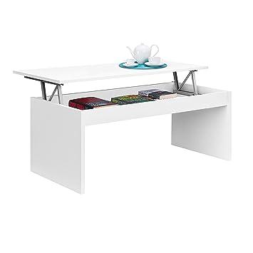 tavolo rialzato bianco cucina