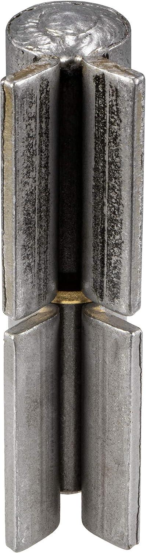Anschwei/ßscharnier H/öhe: 126 mm T/ürband kugelgelagert f/ür Stahl-Tor Gedotec Winkel-T/ürscharnier zum anschwei/ßen Anschwei/ßband f/ür Metall-T/üren Tor-Scharnier f/ür Gartentor /& Maschinen 1 St/ück