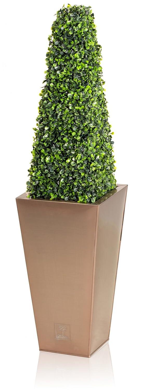 Pair of Artificial Topiary Obelisks by Primrose® (60cm)