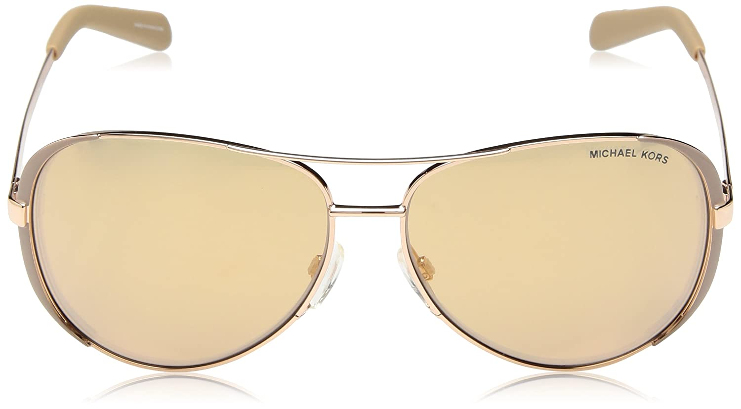 f06a1da0fa07 Amazon.com: Michael Kors MK5004 Chelsea Sunglasses, Gold: Michael Kors:  Shoes