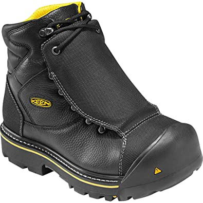 Keen Utility Milwaukee Met Steel Toe Work Boots Mens Black Fashion