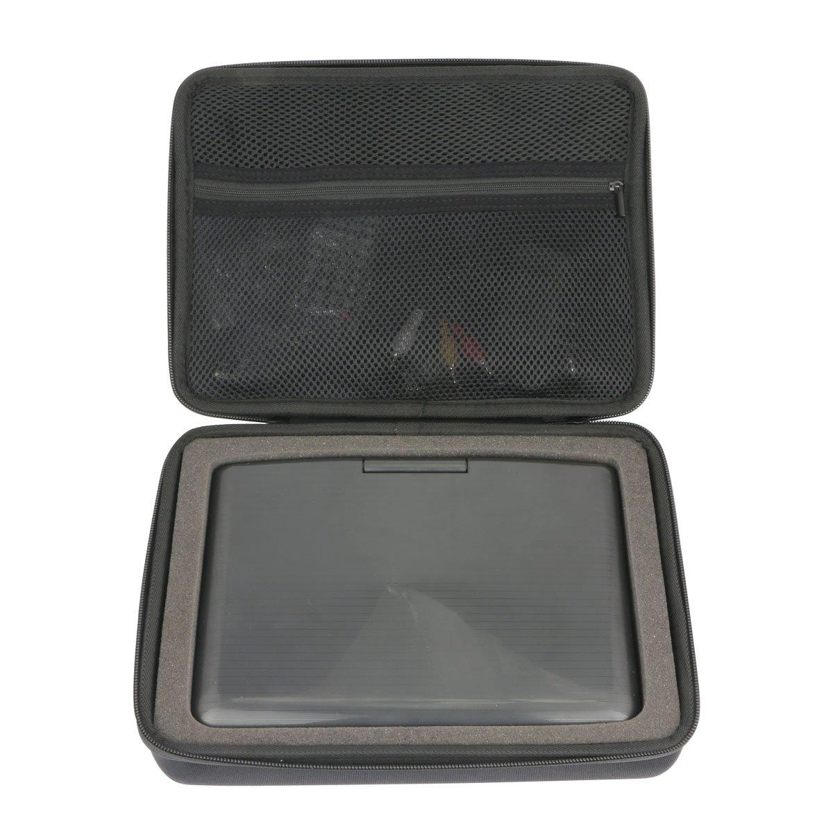 Hard Case for Sylvania 9-Inch Swivel Screen Portable DVD/CD/MP3 Player by Khanka