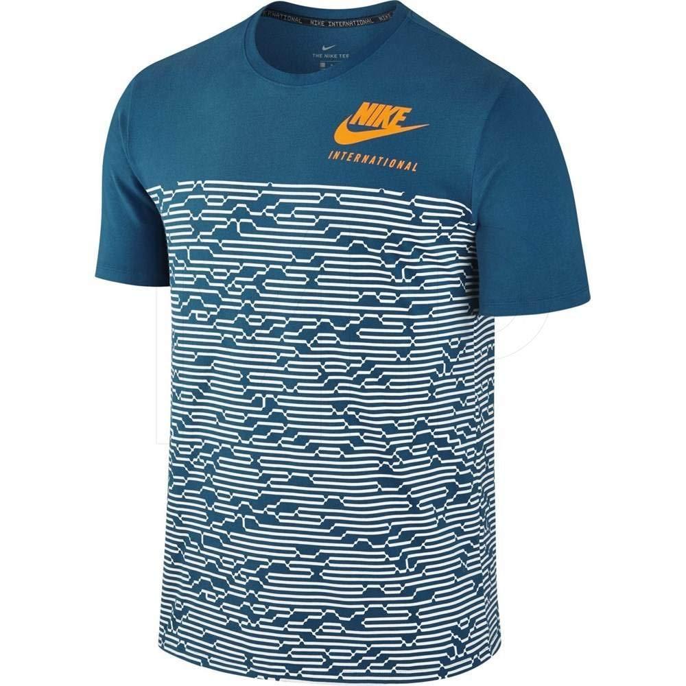 Nike T Shirt �C International blauorange Gr??e: XL (X Large