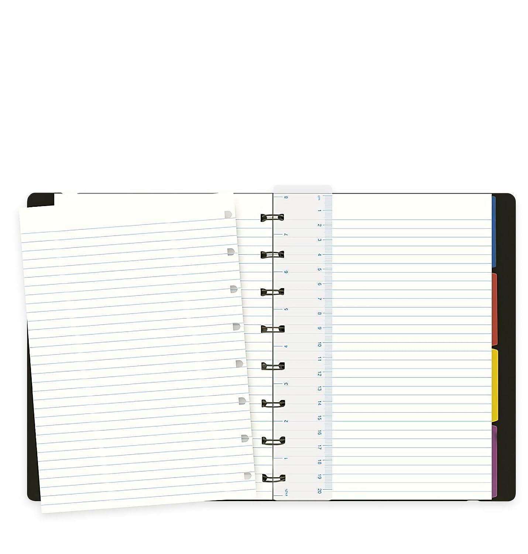 A5 Nero Filofax L115007 Notebook Classic