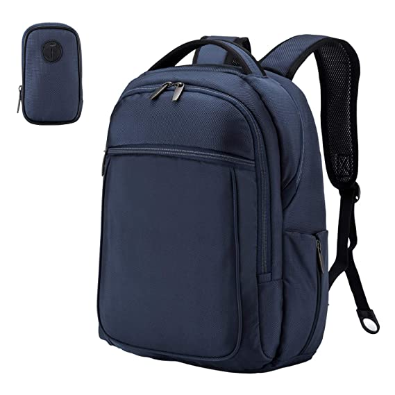 Amazon.com: Wemk Laptop Backpack, Business Backpack, Travel Computer Backpack for Women & Men, Water Resistant College School Computer Bag with a Little Bag ...