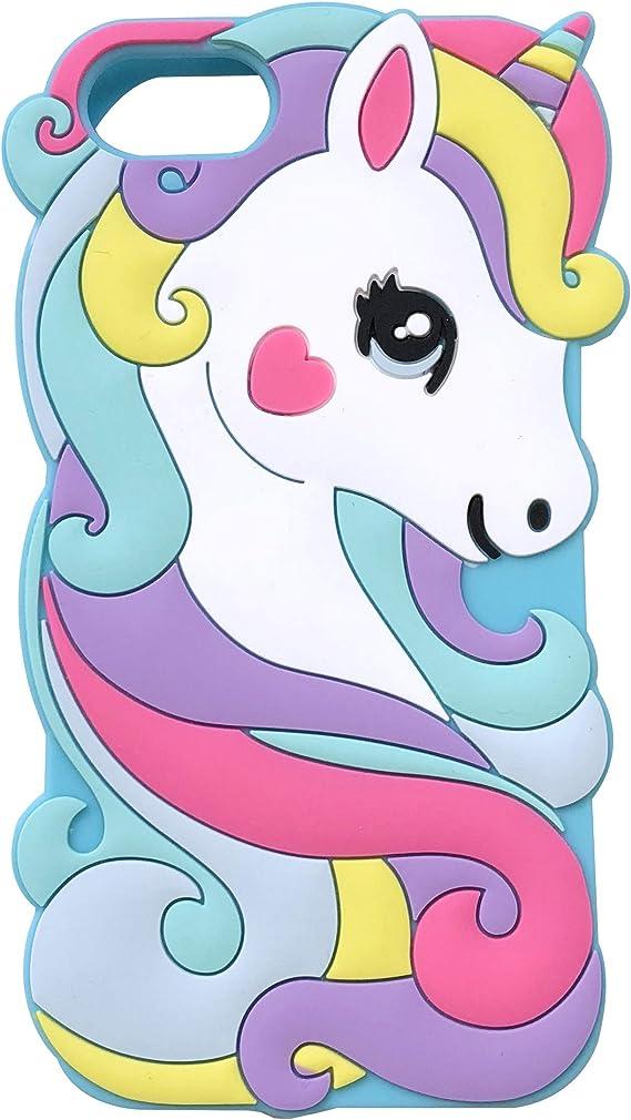 Cute Unicorn Horse iPhone 7 & 8 Case