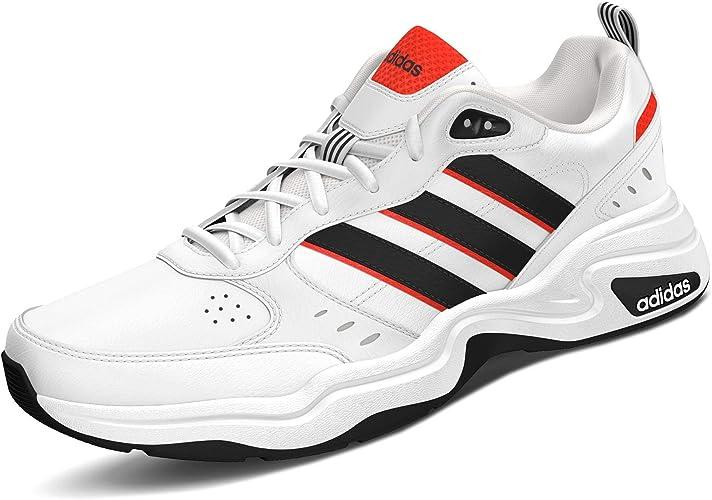 adidas Strutter Herren Sneaker Turnschuhe Schuhe Schwarz, Größe:46