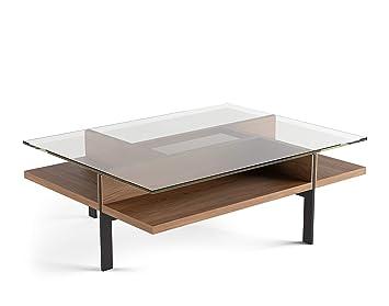 Amazon.com: bdi terraza 1152 mesa de café rectangular ...