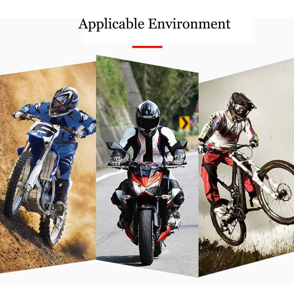 TZTED Erwachsene ATV Motocross Ellenbogen Knie Schienbeinschutz Pads Protector Kit Motocross Racing Motorrad /& Fahrrad