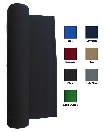 21 Ounce Pool Table Felt   Billiard Cloth   For A 7 Foot Table Black